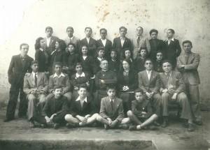 Quinta classe ginnasiale mista - 1941
