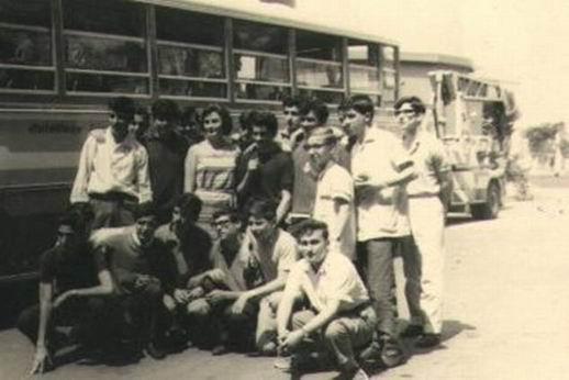 Visita d'istruzione alla Pirelli, 2 Anno di Corso, 1964