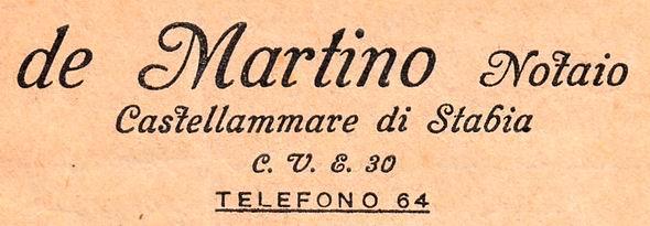 de Martino Notaio