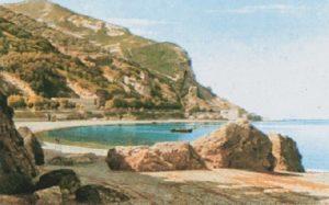 Spiaggia di Pozzano: opera di Errico Gaeta