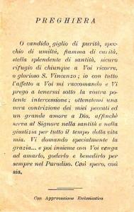 Preghiera a San Vincenzo Ferreri