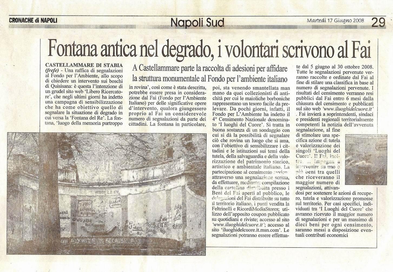 Cronache di Napoli - Francesco Ferrigno (17 giugno 2008)