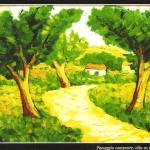 Paesaggio campestre - Morelli