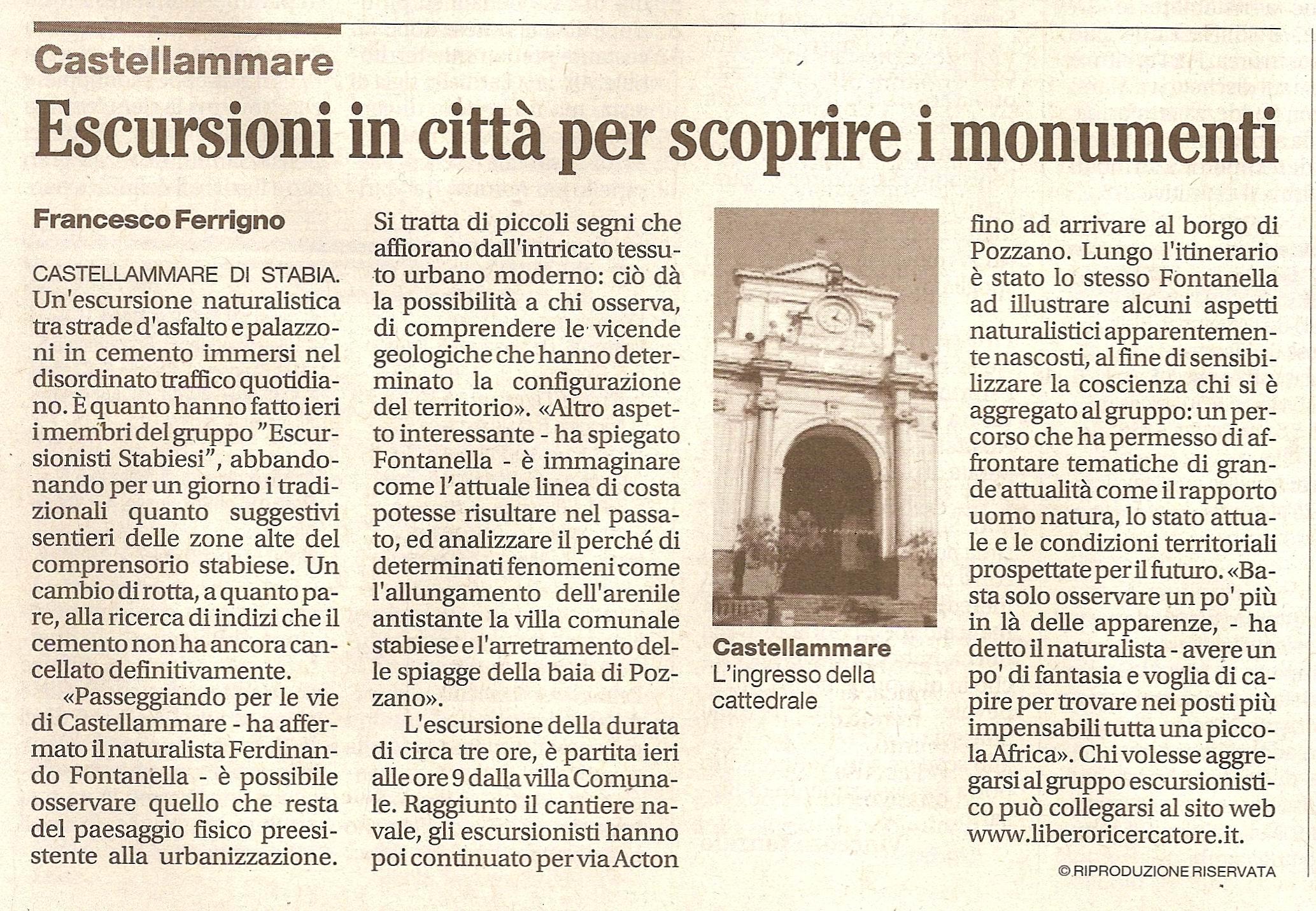 Il Mattino – Francesco Ferrigno (11 aprile 2010)