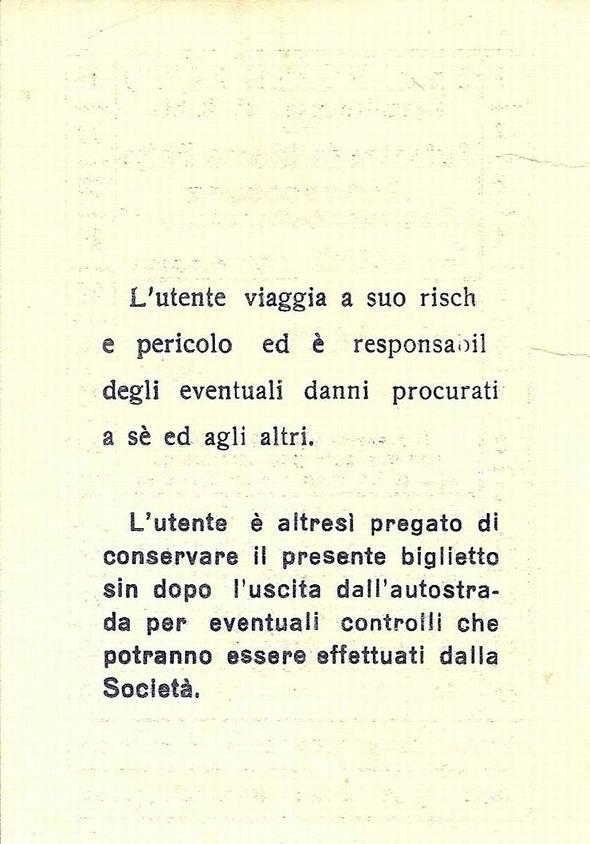 Ticket per Faito - retro (collezione Domenico Cuomo)
