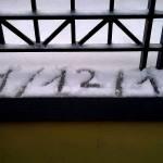 La nevicata del 31 dicembre 2014