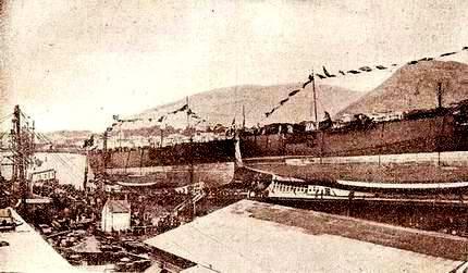 Campania e Basilicata, 1914, Naviglio coloniale