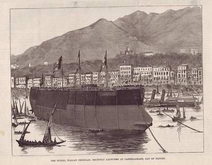 1876 - Duilio (Corazzata)