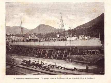 1889 - Partenope (Incrociatore torpediniere)