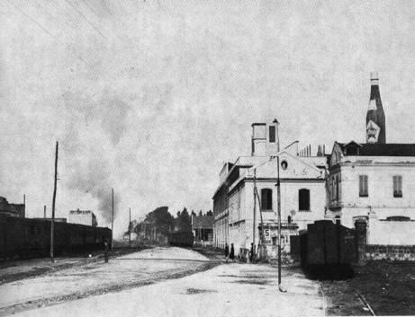 Ingresso ferroviario della Cirio negli anni '30
