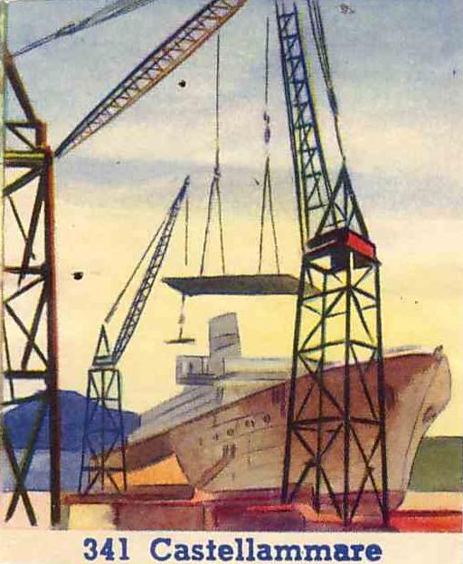 Figurina edizione B.E.A. anni 50