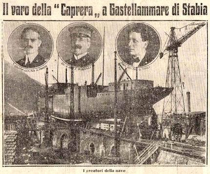 1921 - Caprera (Nave mercantile)