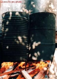 La cottura (foto M. Cuomo)