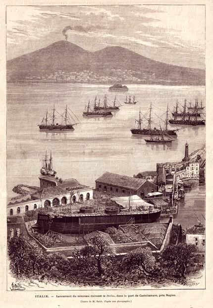 1876 - Varo della Duilio (coll. Gaetano Fontana)