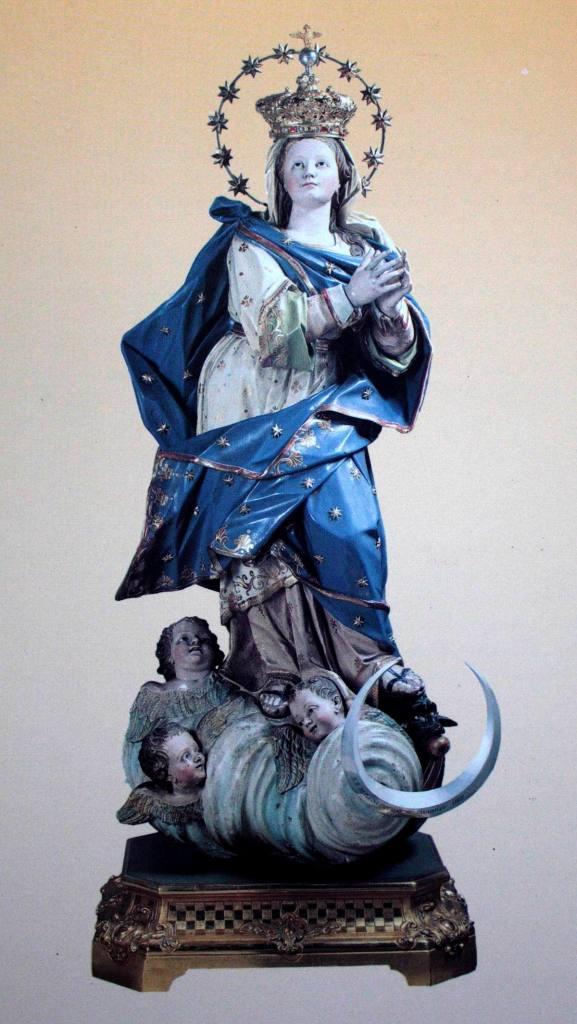 Antica statua dell'Immacolata Concezione (chiesa di San Giacomo Maggiore)