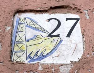 Piastrella n. 27 (foto F. F.)