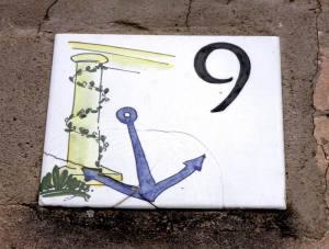 Piastrella n. 9 (foto F. F.)