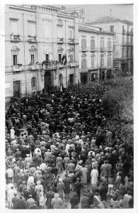 13 ottobre 2007 - Piazza Municipio 1948