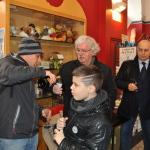 Brindisi anno 2015 Ferdinando Fontanella, Bonuccio Gatti ed il piccolo Catello.