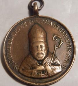 Medaglia S. Catello - fronte (gentile concessione del dott. Carlo Felice Vingiani)