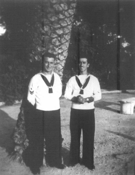 Alessandro Coppola (a sinistra)