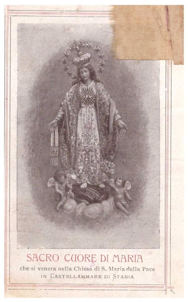 Sacro cuore di Maria (coll. Enzo Ceasarano)