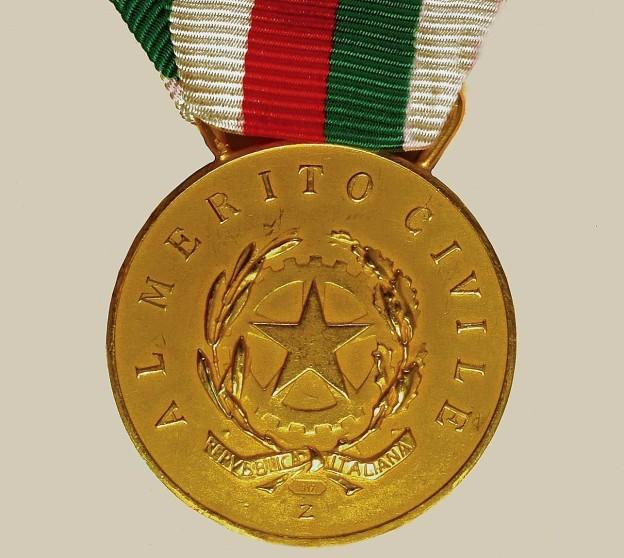 Castellammare di Stabia - Medaglia d'Oro al Merito Civile