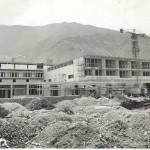 Le terme in costruzione (foto archivio sig. Enzo Cuomo)