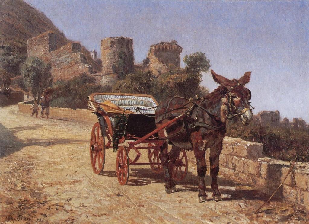Carrozzella di Castellammare (Filippo Palizzi)