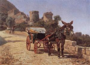 Filippo Palizzi Carrozzella di Castellammare