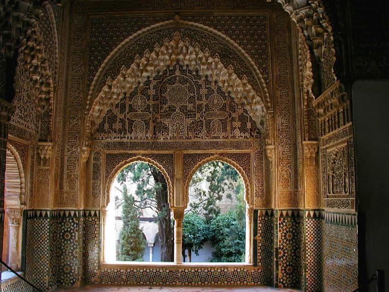Alhambra Granada, Spagna interno foto dal web