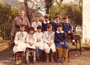Anno 1984 - Scuola Pacella, classe III