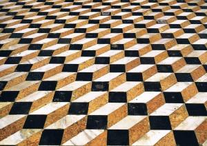 Pavimento della basilica di San Giorgio Maggiore, 1566 Venezia