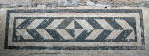 Tappeto mosaico, dagli Scavi di Stabiae