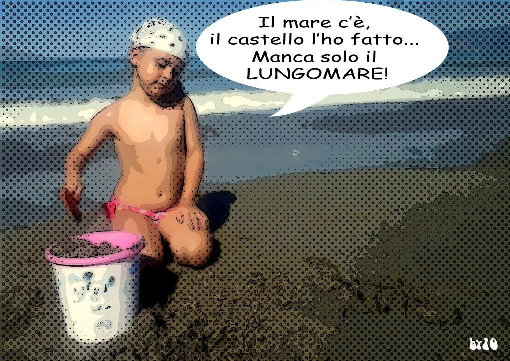 Manca solo il Lungomare..., by 10.
