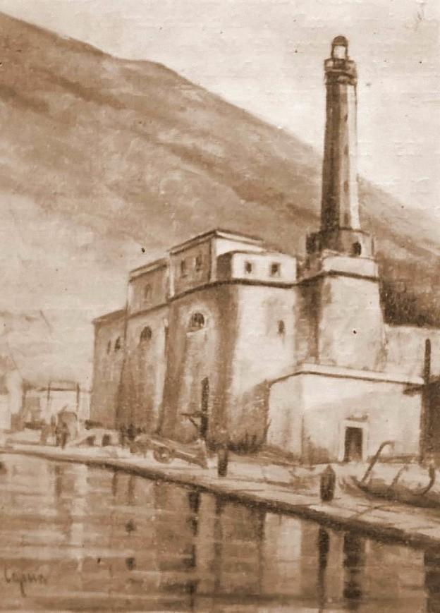 Il faro (quadro di Gaetano Di Capua)