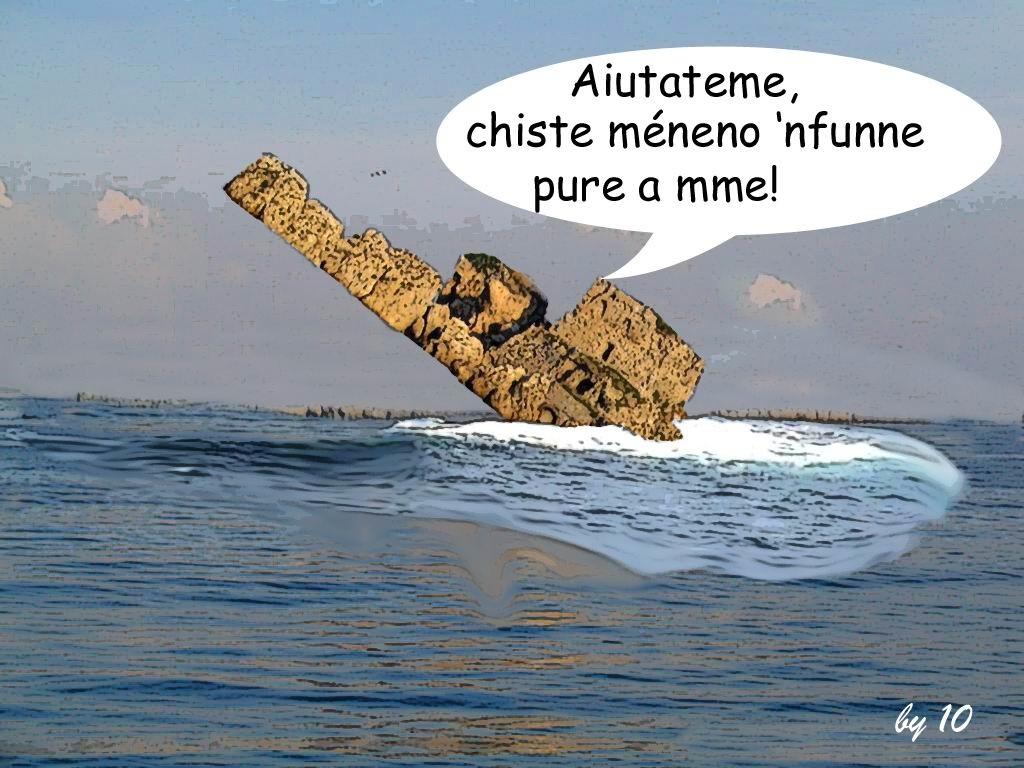 """Scoglio di """"Roviniamo"""", by 10."""