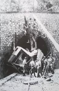 15 agosto 1960 - Lo schianto della funivia del Faito (foto Mimì Paolercio)
