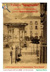 """locandina Palazzo """"Spagnuolo"""""""