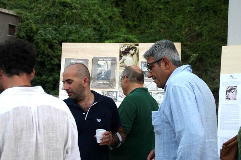 La mostra sulle Acque (foto Nicola D'Auria)