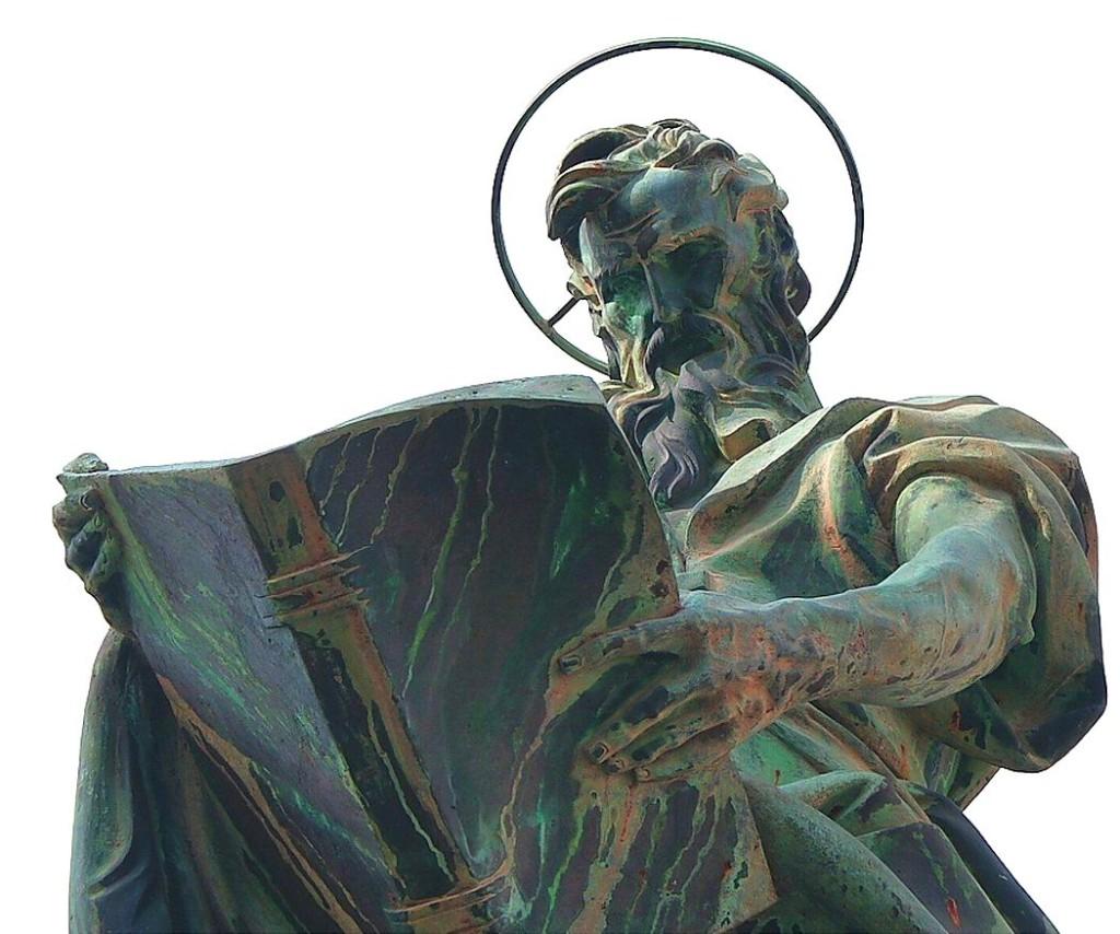 Statua di San Matteo (foto Giuseppe Plaitano)