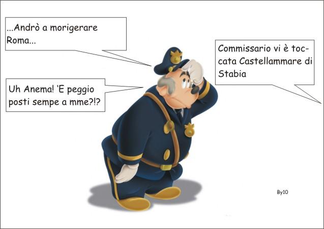 Arriva il commissario (Basettoni) a Castellammare by 10