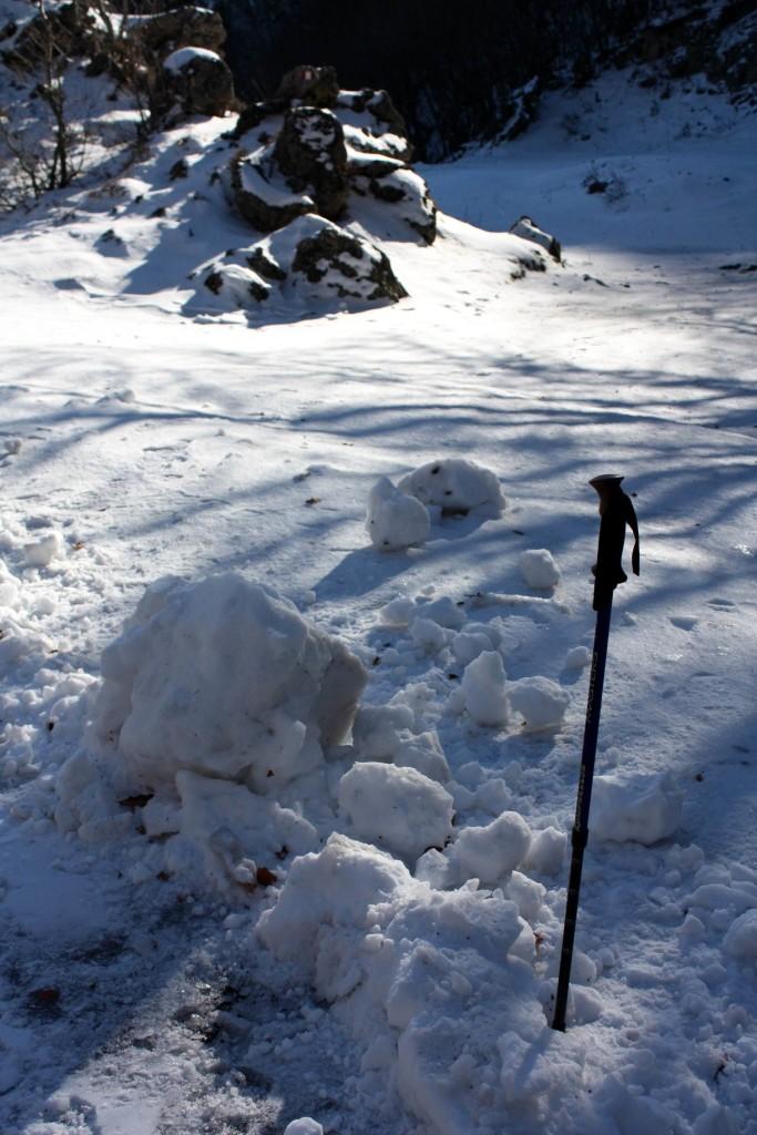 La neve del Faito, un'antica risorsa ormai del tutto dimenticata! (foto Maurizio Cuomo)