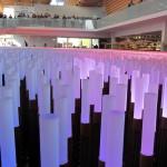 Padiglione Cinese, gioco di luci LED