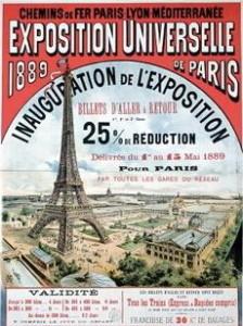 Torre Eiffel, Parigi 1889