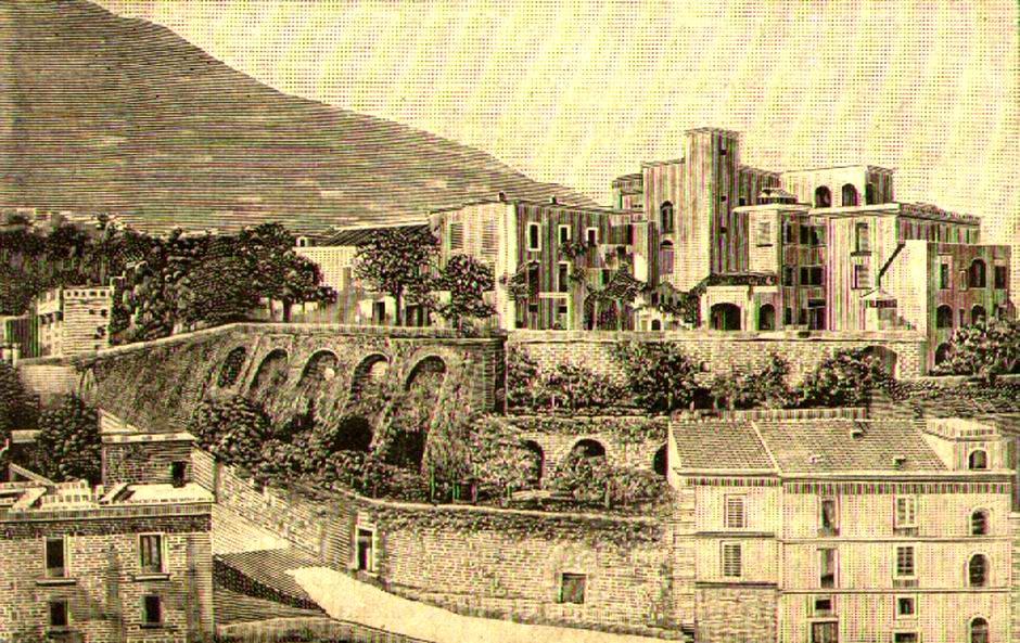 Belvedere Avitabile, xilografia anno 1901 (coll. G. Fontana)