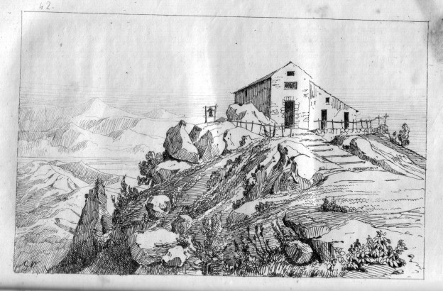 Antico santuario di San Michele Arcangelo al Monte Sant'Angelo a Tre Pizzi.