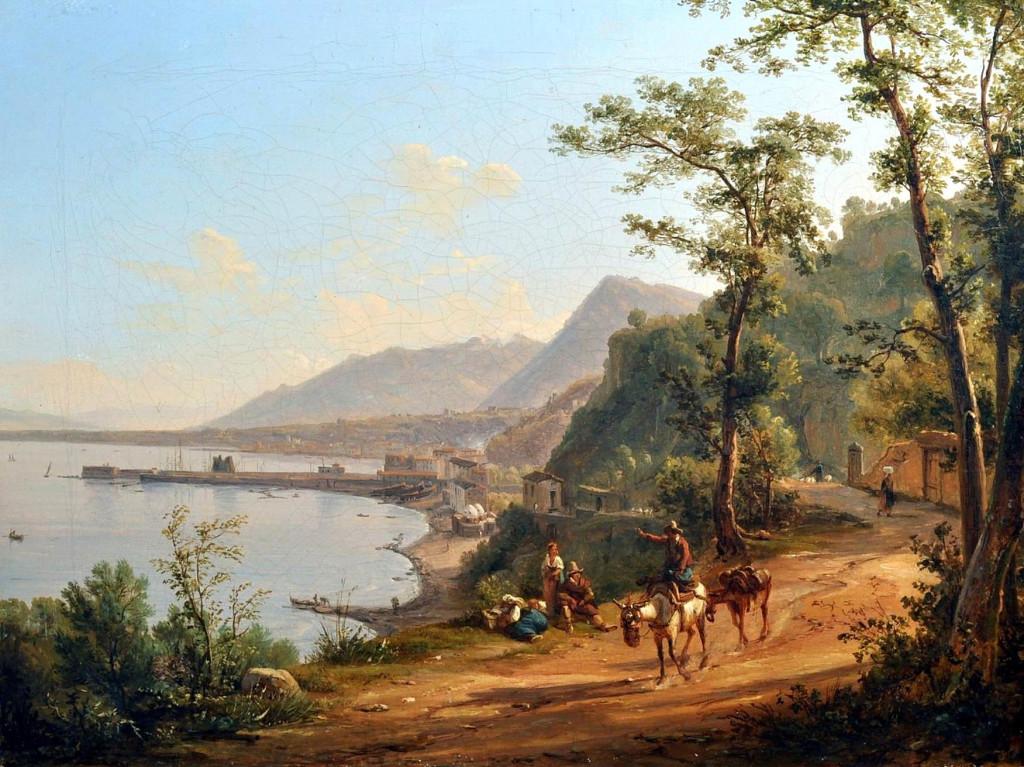 Pitloo-Antonio-Sminck-Arnhem-1790-Napoli-1837-Castellammare-olio-su-tela-cm-38505
