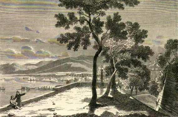 Castellamare: veduta da Pozzano