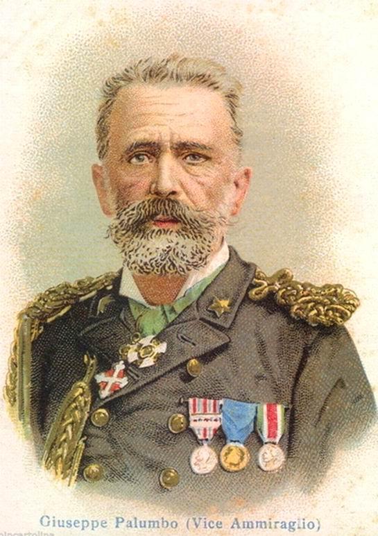 Il Viceammiraglio Giuseppe Palumbo
